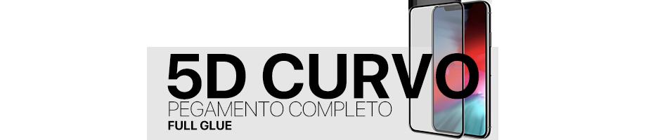 Protector Completo 5D Curvo (Full Glue)